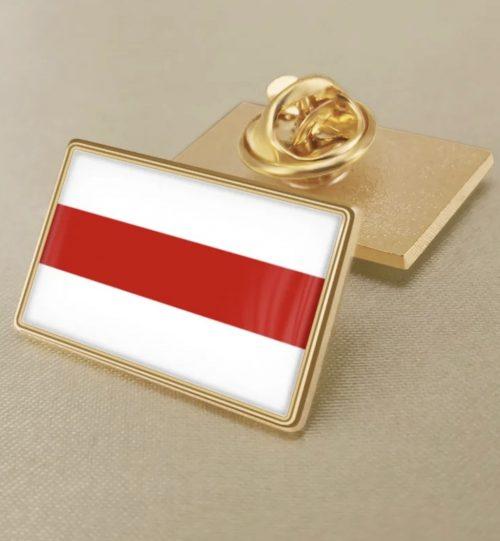 Ženkliukas Baltarusijos vėliava LAISVĖ (stačiakampis)