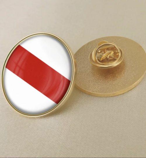 Ženkliukas Baltarusijos vėliava LAISVĖ (apvalus)