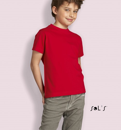 Marškinėliai vaikams Sols Imperial kids 11770