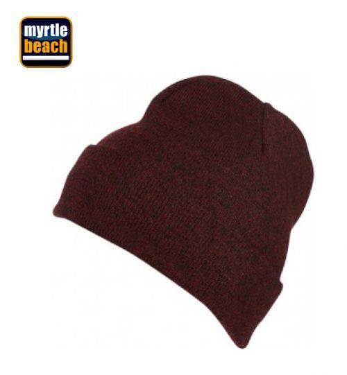 Kepurė MYRTLE BEACH Melange Beanie 03.7122 MB 7122 unisex