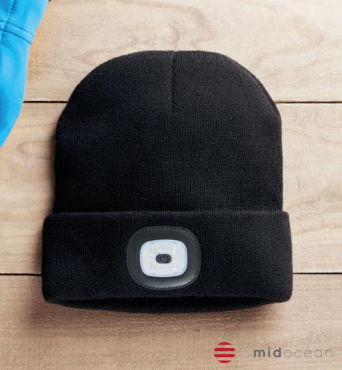 Žieminė kepurė su prožektorium Beanie Light MO9417-34 MIDOCEAN