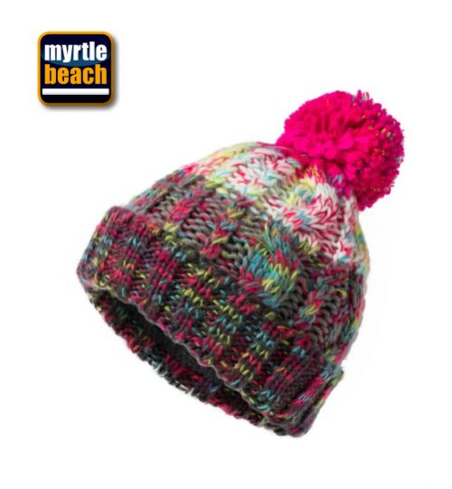 Kepurės Myrtle Beach Fancy Yarn Hat | 03.7104 / MB 7104 unisex