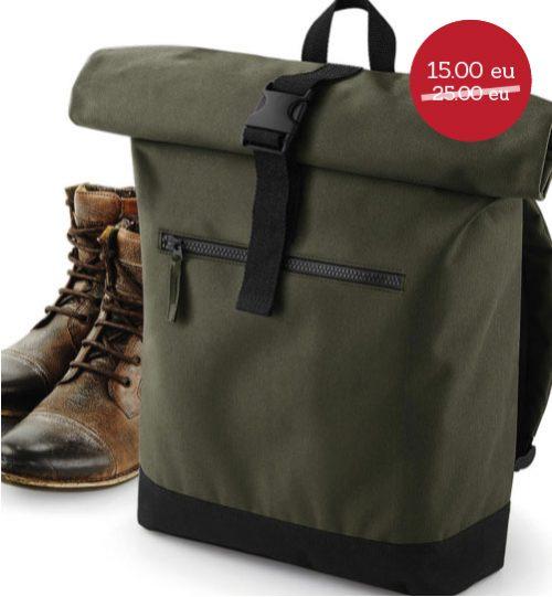 Krepšys Roll-Top Backpack BG855 017.29 ispardavimas