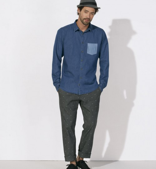 Marškiniai Stanley StellaInovated pocked  STWM575