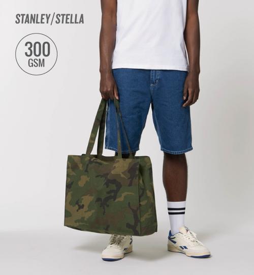 SS Komufliažinis maišelis Stanley Stella Shopping Bag AOP STAU 768 unisex