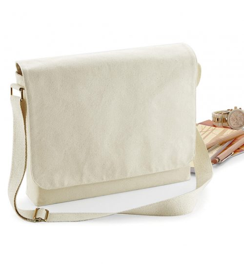 Rankinė FairTrade Cotton Canvas Messenger 644.28 W464 Wesford Mill