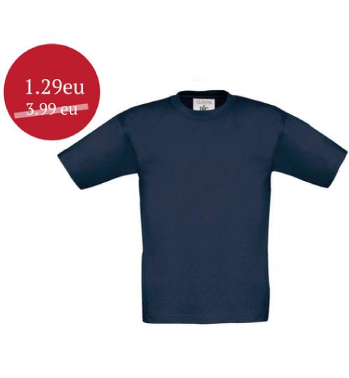 Marškinėliai B&C Exact 150 Kids
