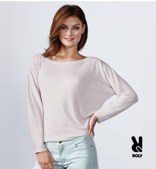 Marškinėliai moterims Roly Dafne 6561