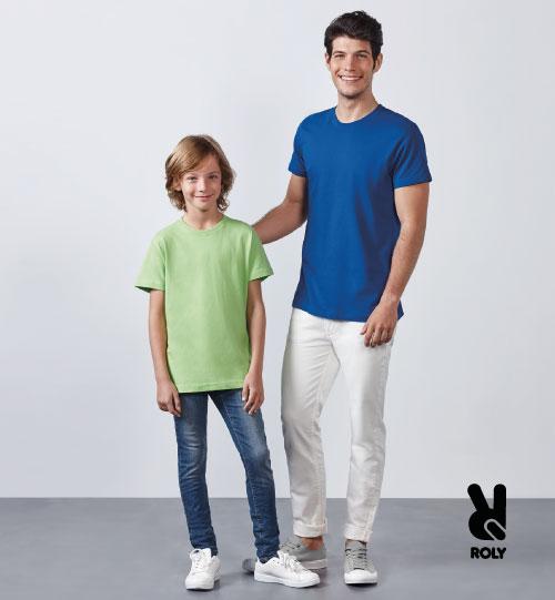 Marškinėliai vyriški Roly Dogo premium 6502
