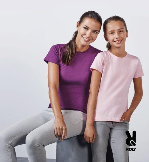 Marškinėliai moterims Roly Jamaica 6627