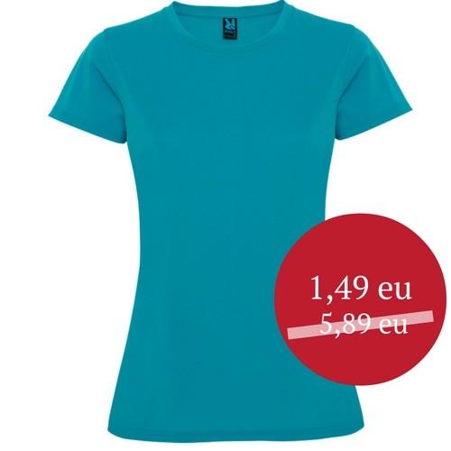 Sportiniai marškinėliai moteriški Roly Montecarlo 0423