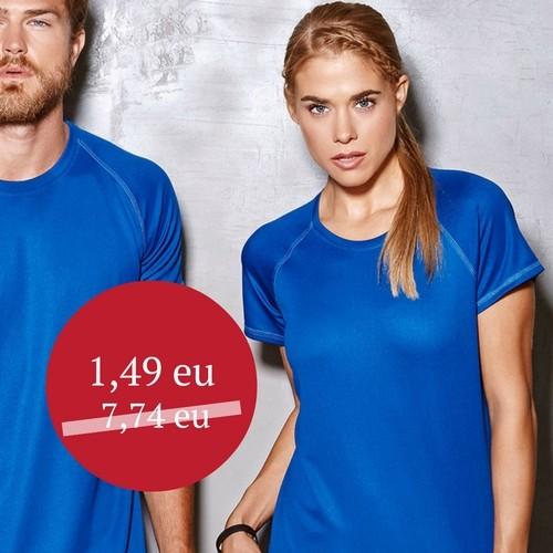 Marškinėliai sportui moteriški Stedman active ST 8500