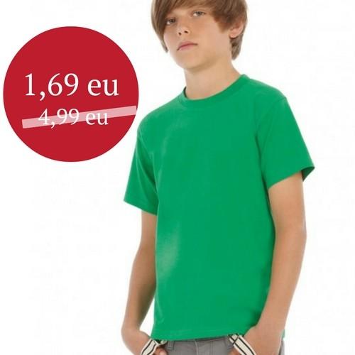 Marškinėliai vaikiški BC Exact 190