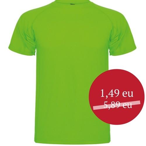 Marškinėliai sportui vyriški Roly Montecarlo 0425