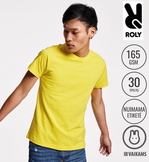 Marškinėliai vyriški Dogo premium 6502 ROLY