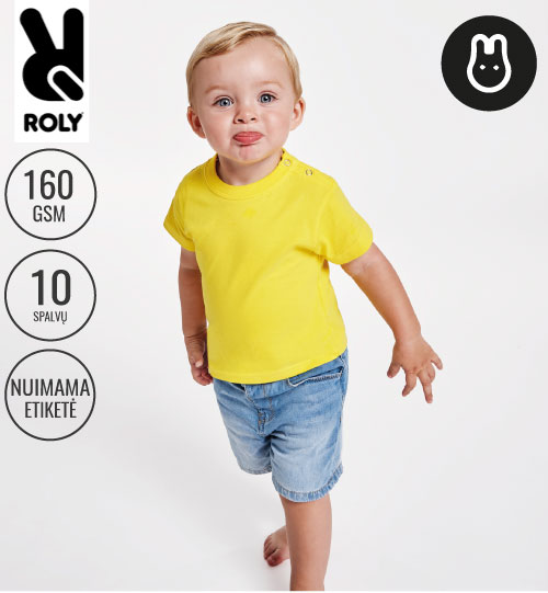 Marškinėliai ROLY BABY 6564