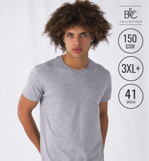 Marškinėliai  #E150  TU01T 015.42 B&C