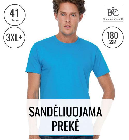 Marškinėliai B&C #E190 > TU03T 019.42