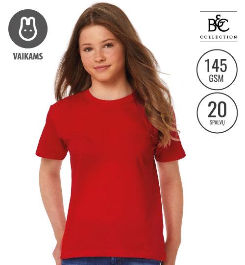 Marškinėliai EXACT 150 /KIDS 158.42 TK300 B&C