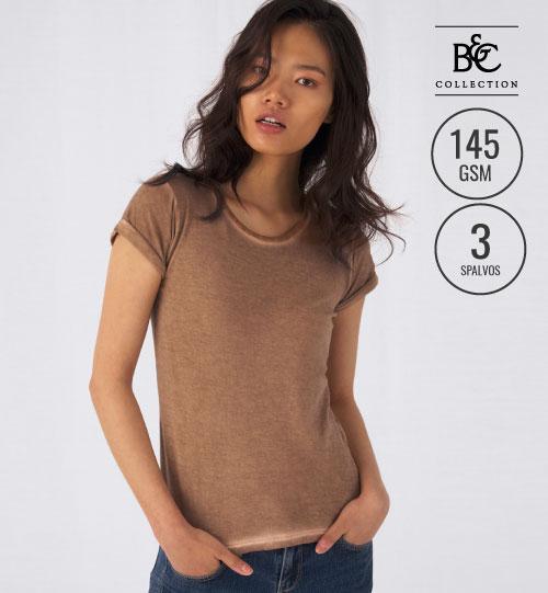 Marškinėliai B&C DNM PLUG IN /WOMEN