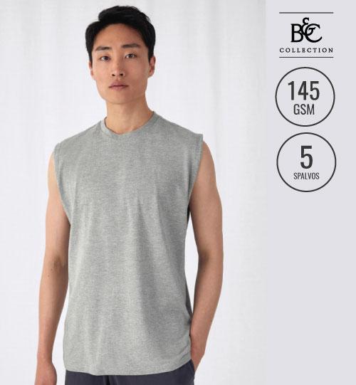 Marškinėliai vyriški  EXACT MOVE Sleeveless  175.42 TM201 B&C