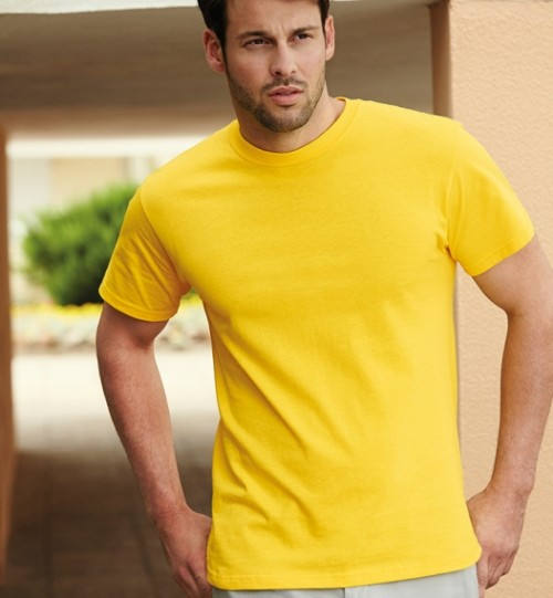 Marškinėliai vyrams FRUIT OF THE LOOM Heavy Cotton T 180.01