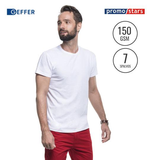 Marškinėliai Geffer 100 29100 PROMOSTARS