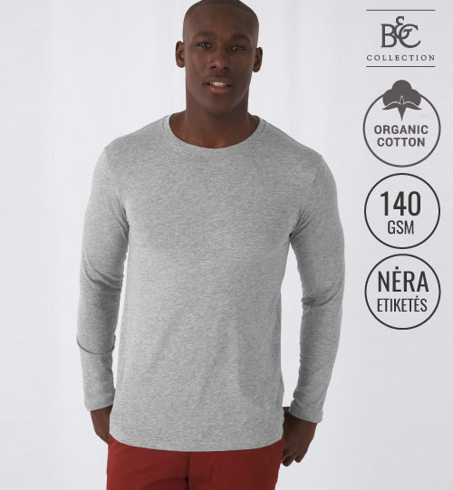 Marškinėliai Inspire LSL T/men T-shirt 017.42 TM070 B&C