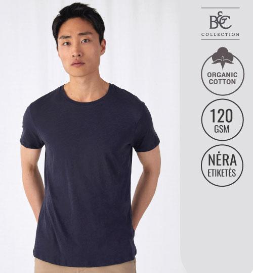 Marškinėliai Inspire Slub/men 184.42 TM046 B&C