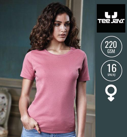 Marškinėliai Ladies Interlock T-Shirt 101.54 (580) TEE JAYS