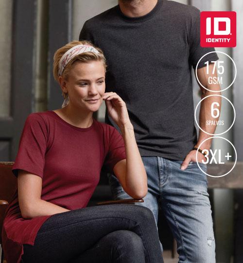 Marškinėliai Ladies' T-TIME 0512 ID IDENTITY