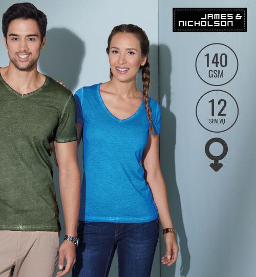 Marškinėliai James&Nicholson JN 02.0975 JN 975 / women