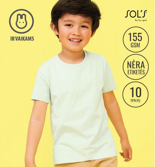 Marškinėliai Martin Kids 03102 SOL'S