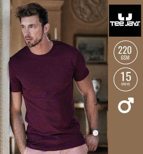 Marškinėliai Mens Interlock T-shirt 153.54 (520) TEE JAYS