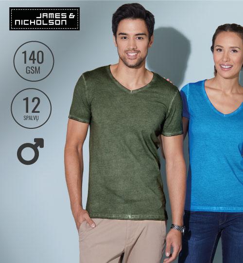 Marškinėliai James&Nicholson JN 02.0976 JN 976 / men