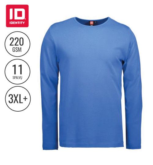 Marškinėliai Mens' interlock / long-sleeved 0518 ID IDENTITY
