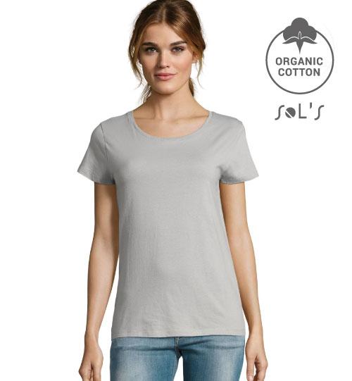 Marškinėliai Milo Women 02077 SOLS