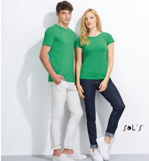 Marškinėliai MIXED MEN 01182 MIXED WOMEN 01181 SOLS