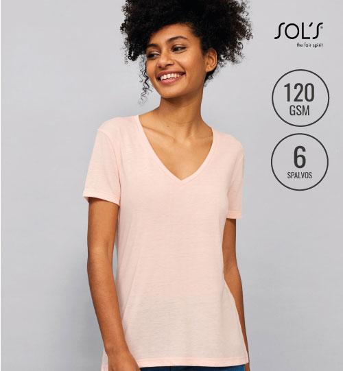 Marškinėliai Motion Women 03098 SOL'S