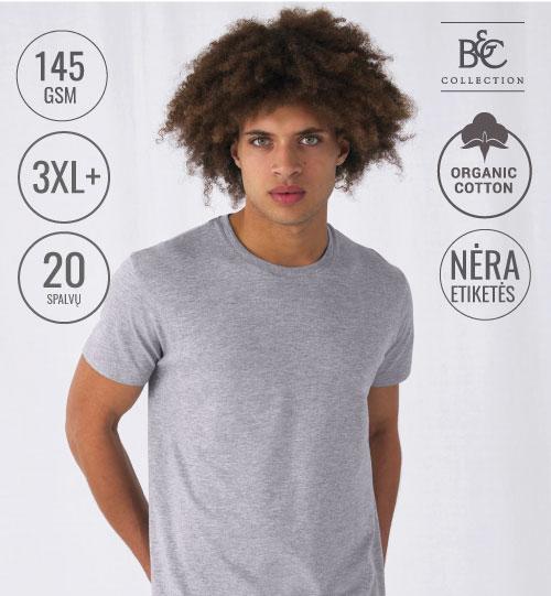 Marškinėliai #Organic E150 001.42 TU01B B&C