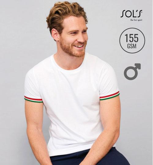 Marškinėliai Rainbow Men 03108 SOL'S
