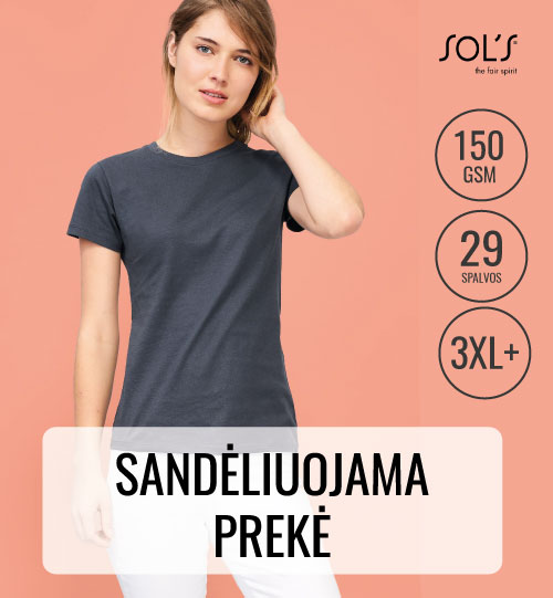Marškinėliai REGENT WOMAN SOLS