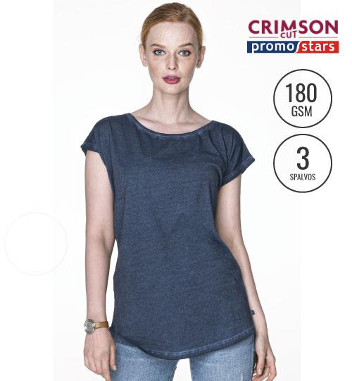 Marškinėliai Smoky Lady 21323 CRIMSON CUT PROMOSTARS