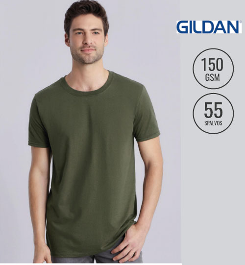 Marškinėliai GILDAN Ring Spun T-Shirt 150.09 men