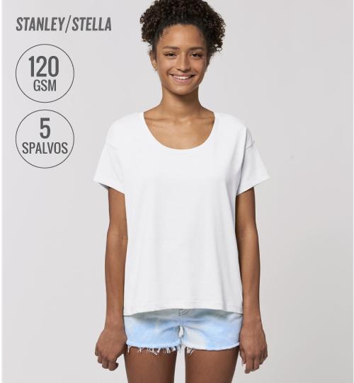 Marškinėliai Stanley Stella Chiller STTW 036 women