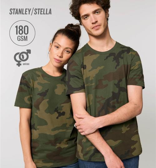 SS Marškinėliai Stanley Stella CREATOR STTU 828 Camouflage unisex