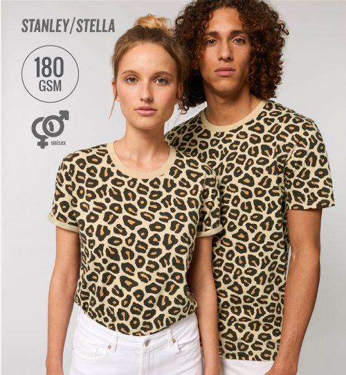 SS Marškinėliai Stanley Stella CREATOR STTU 828 Leopard unisex