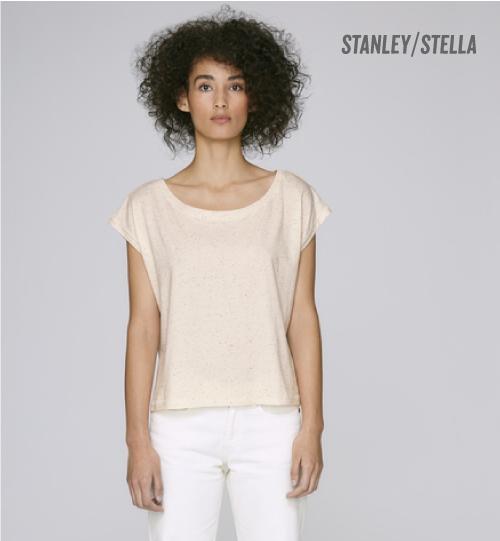 SS Marškinėliai Stanley Stella Flies STTW 041 women