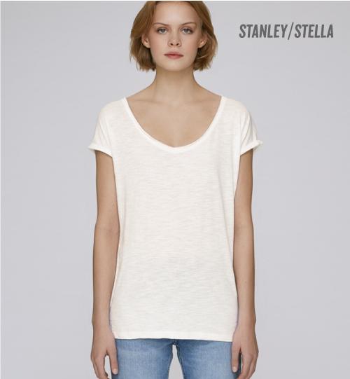 SS Marškinėliai Stanley Stella Invents Slub  STTW 145 women