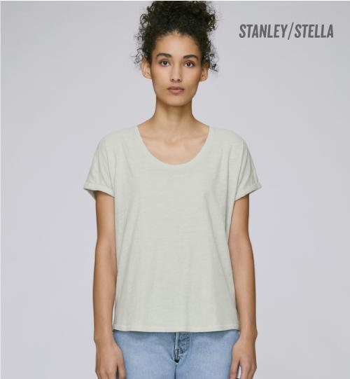 SS Marškinėliai Stanley Stella Lazes STTW 062 women